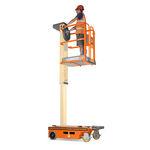 piattaforma di sollevamento / mobile / per persone / verticale