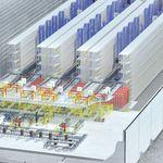 sistema di stoccaggio automatico verticale / orizzontale / per magazzino