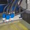 cabina di sabbiatura a pressione / automatica / con trasportatore concavo