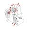 centro di lavoro 5 assi / verticale / di alta precisione