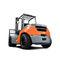 carrello elevatore controbilanciato / a GPL / diesel / con conducente sedutoTOYOTA Material Handling