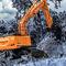 escavatore intermedio / su ruote / diesel / Tier 4 finale