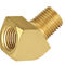 raccordo ad avvitamento / a compressione / con flangia / gomito a 45°