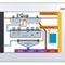 terminale HMI con touch screen / RISC / IP65 / di visualizzazione