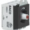 Interruttore con manopola di selezione / multipolare / luminoso / elettromeccanico BACO