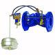 valvola a galleggiante / a comando idraulico / di controllo di livello / per acqua