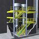 soppalco industriale multilivello / per pavimento industriale / per piattaforma