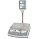 bilancia da pavimento / da banco commerciale / peso/prezzo / con display LCD