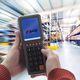 terminale palmare portatile / con tastiera integrata / rinforzato / mobile