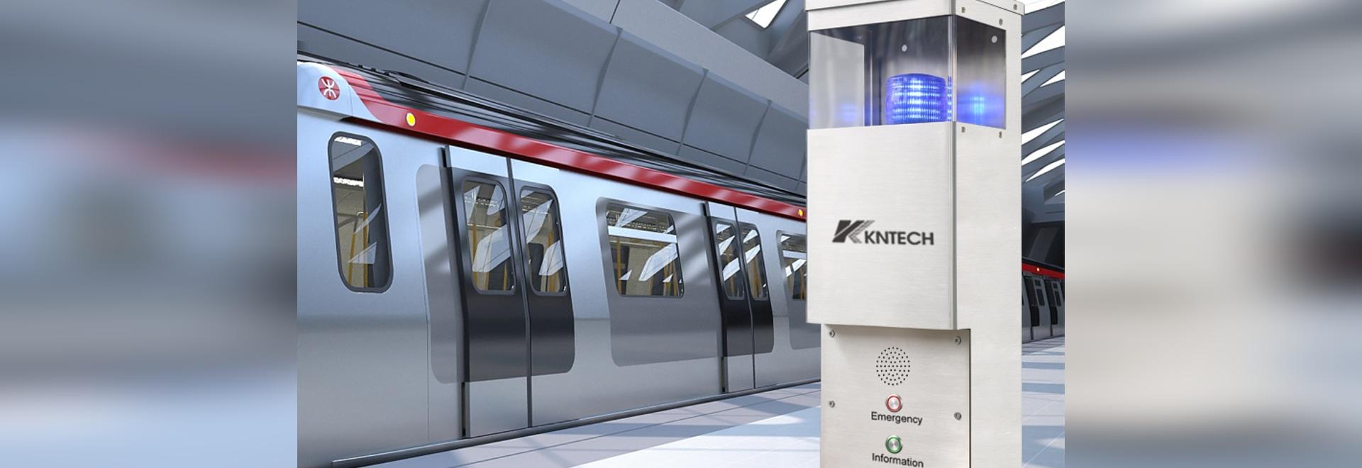 Aiuto ai passeggeri Point / Video intercom /Emergency call stations /Telephone console progetto della metropolitana