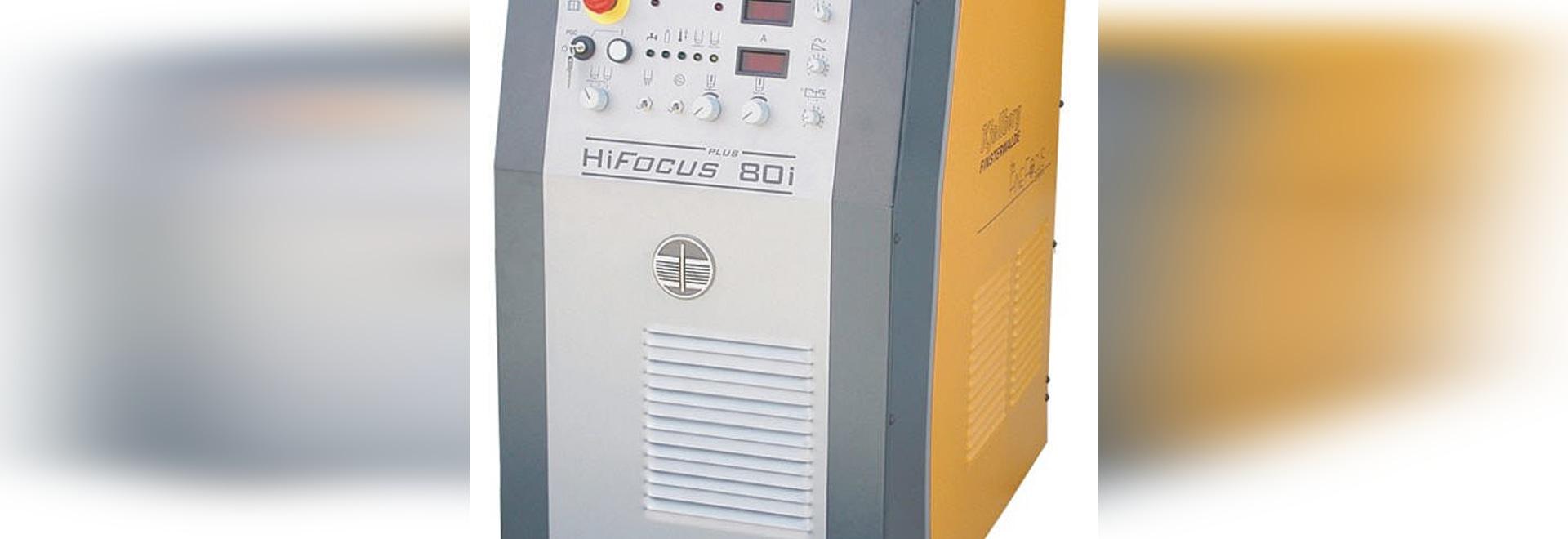 Apparecchi per il taglio al plasma controllati da CNC e meccanizzati - HiFocus 80i