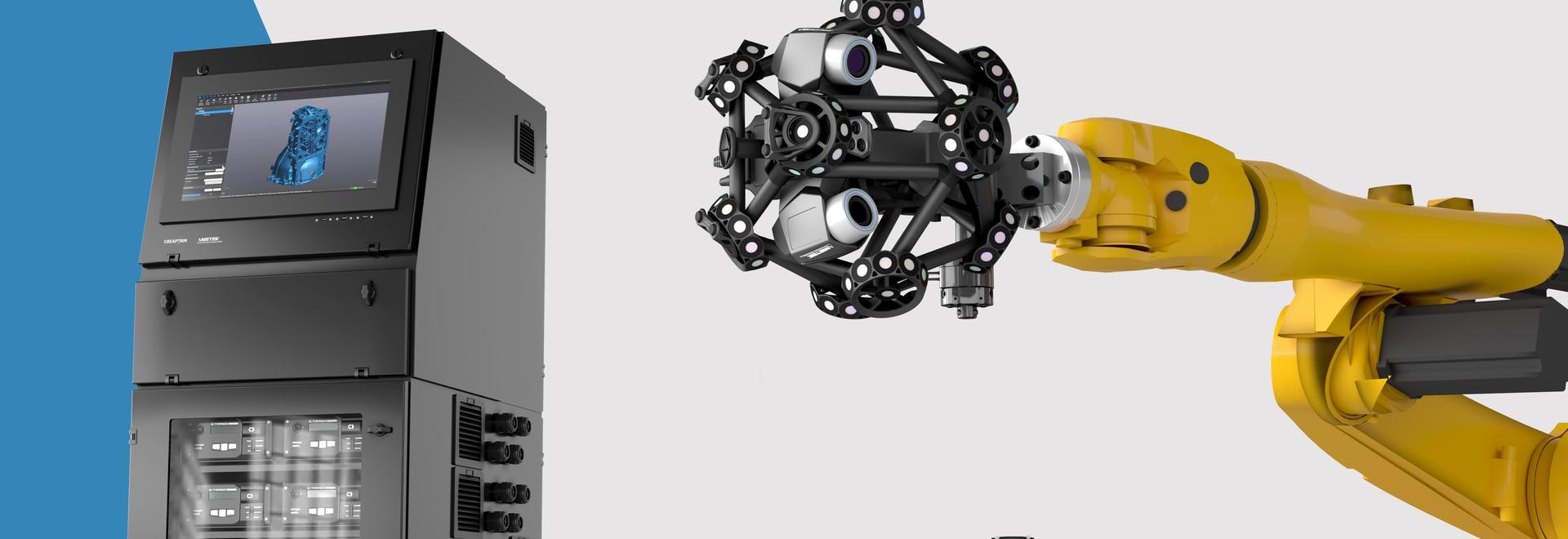 Creaform lancia una stazione di produttività e un corredo di Autocalibration per la sua serie di prodotti di R-serie, consegnanti la soluzione automatizzata di ispezione dimensionale più veloce sul...