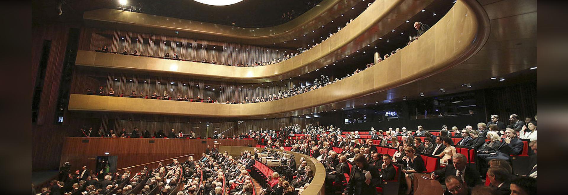 Isolamento acustico ed isolamento antivibrante nel teatro di musica a Linz, Austria