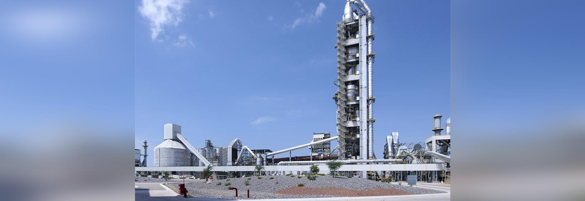 linea di produzione cemento