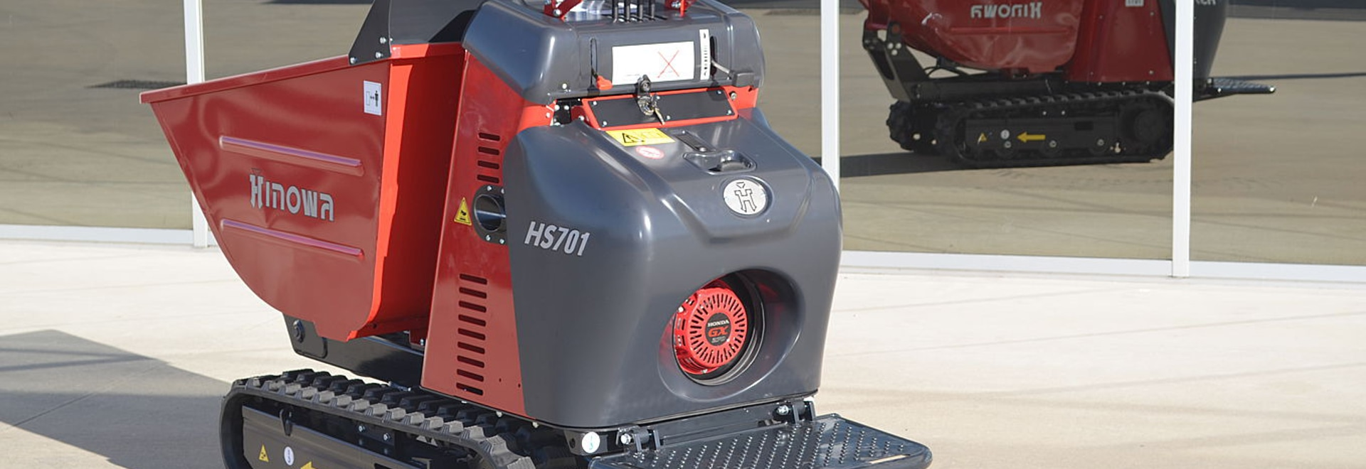 Minidumper HS701 ora anche a benzina