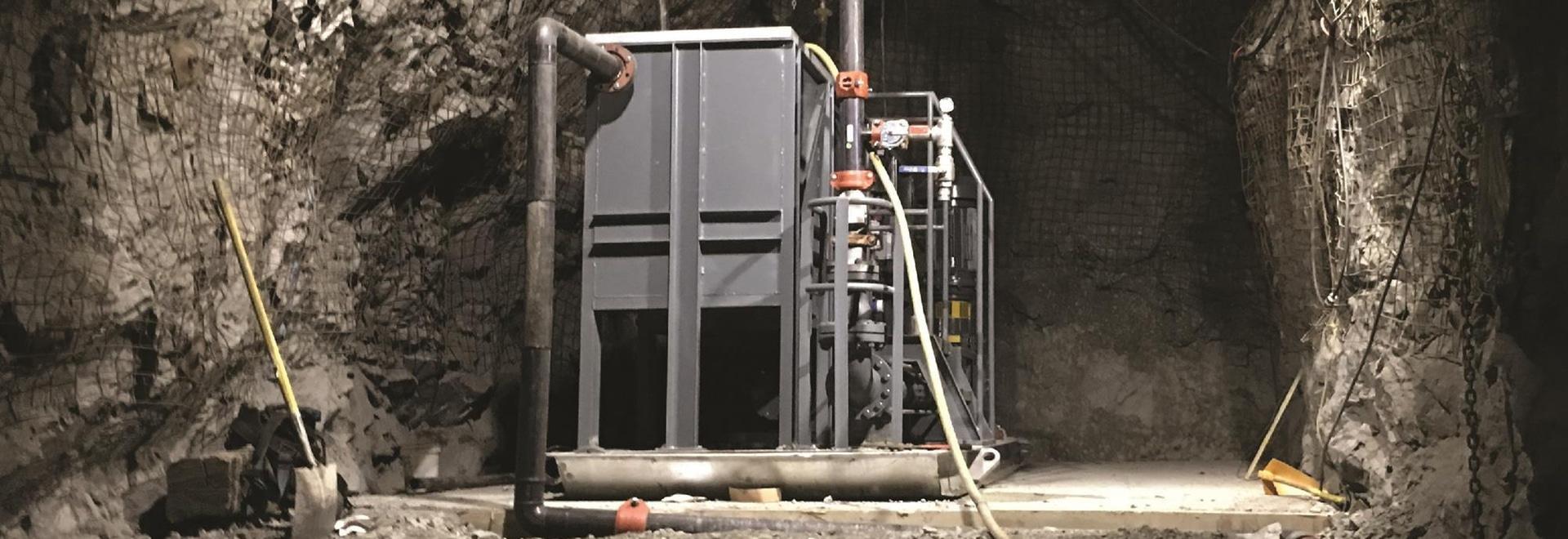 NETZSCH per evidenziare le pompe d'asciugamento della miniera e gli scivoli della pompa alla PMI 2019