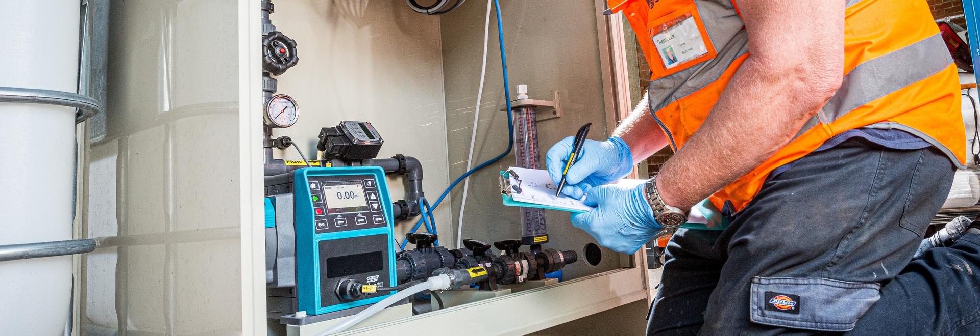 La nuova tecnologia delle teste ReNu offre un flusso accurato e ripetibile per il dosaggio dei polimeri