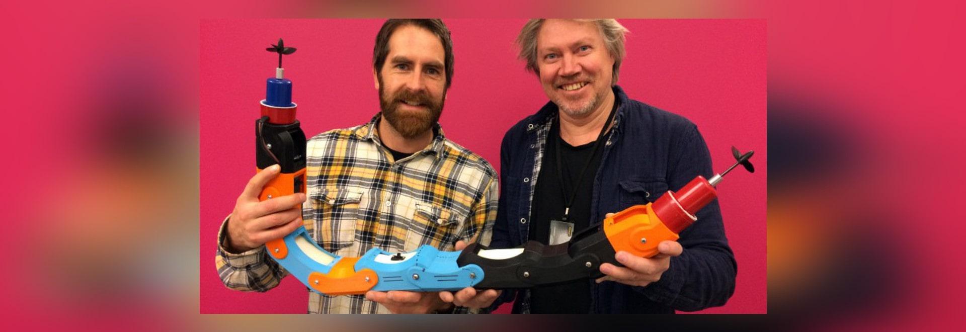 ROBOT dell'ACQUA STAMPATO 3D PIPE-INSPECTION