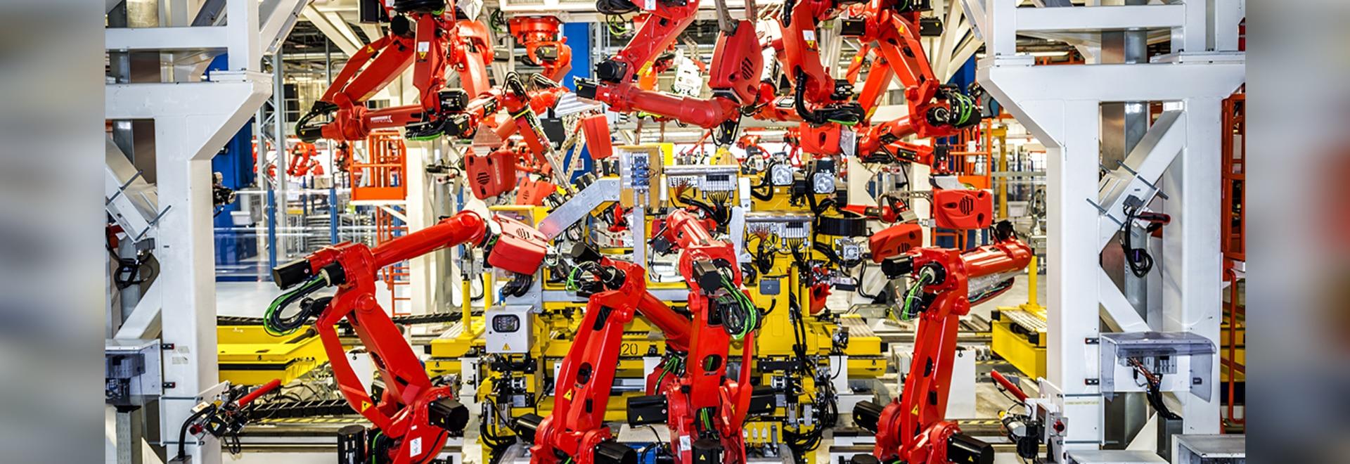 Robot sull'aumento