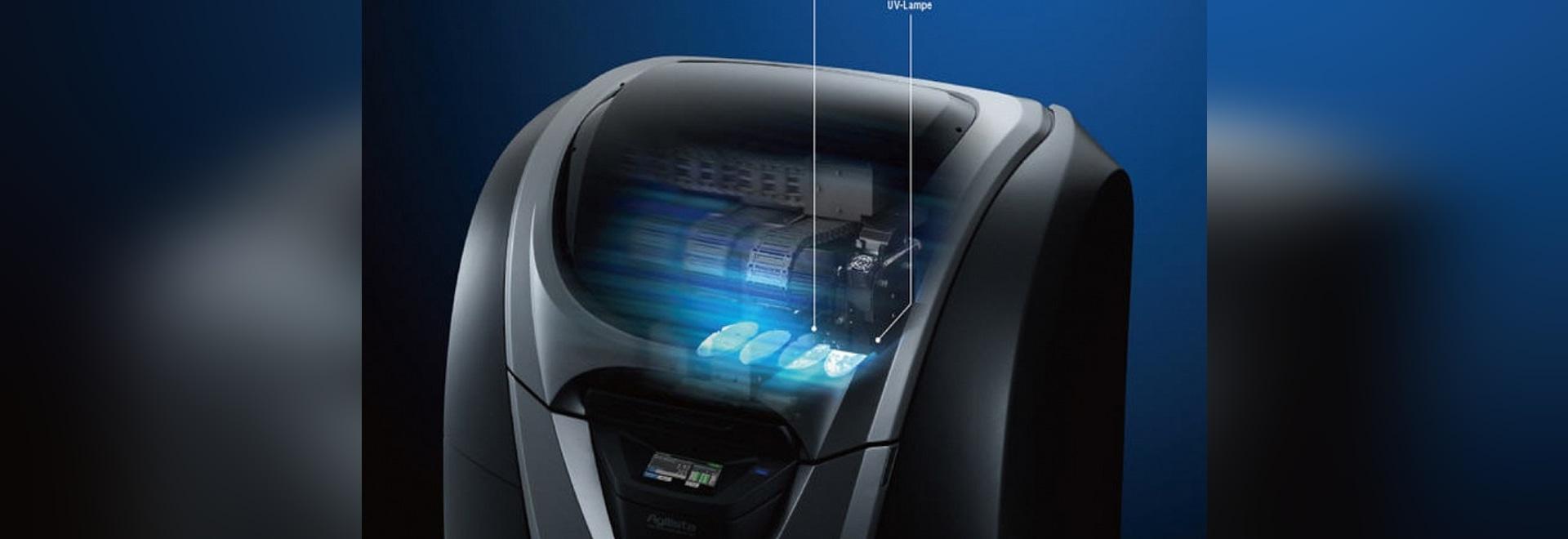 Stampante 3D di Agilista 3000: Una resistenza termica sopra 100°C