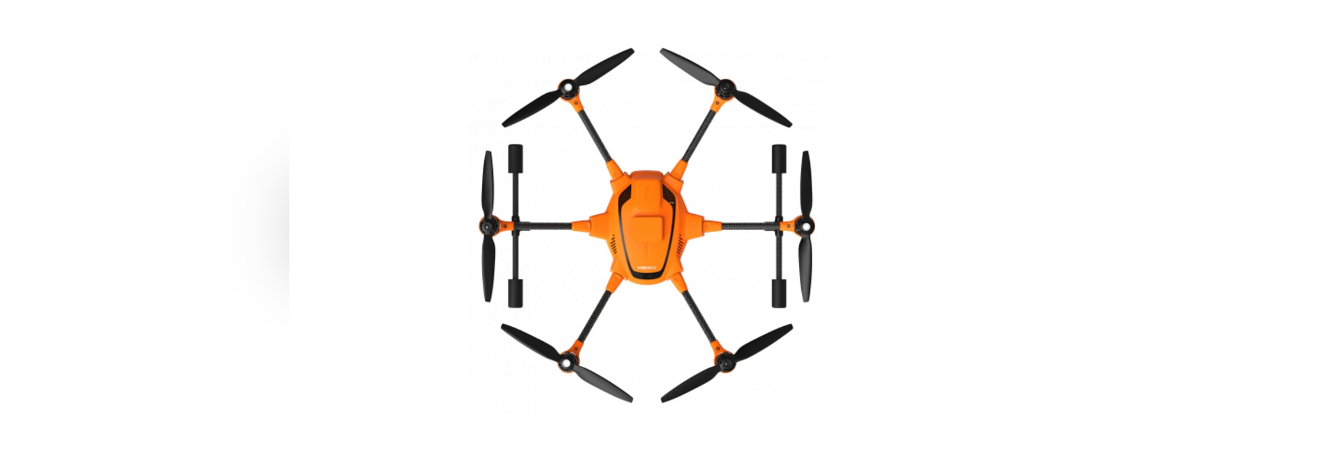 Yuneec H520 Hexacopter commerciale con RTK