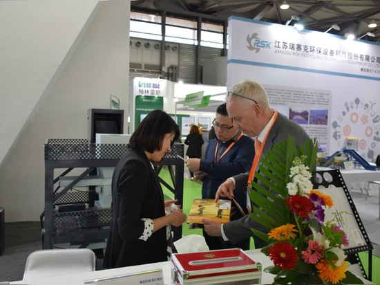 GEP ECOTECH ha partecipato al 20° IE Expo Cina