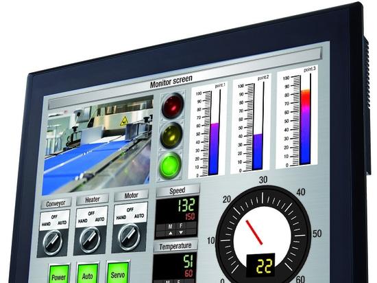 """IDEC rilascia HG5G-V 15"""" interfaccia uomo-macchina (HMI) touchscreen"""