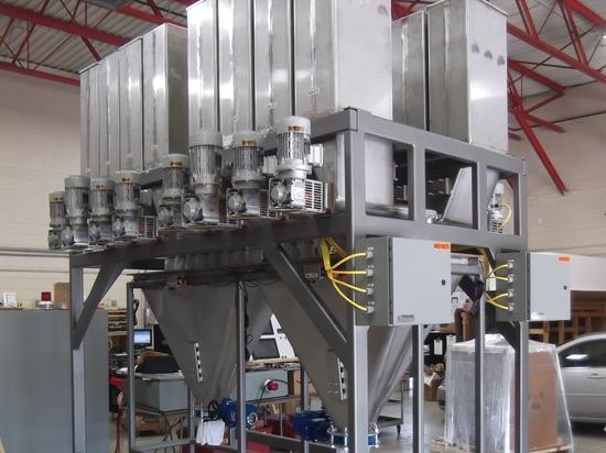Sterling Systems & Controls annuncia i sistemi di pesatura automatica personalizzata di Micro Ingredient Material Weighing Systems