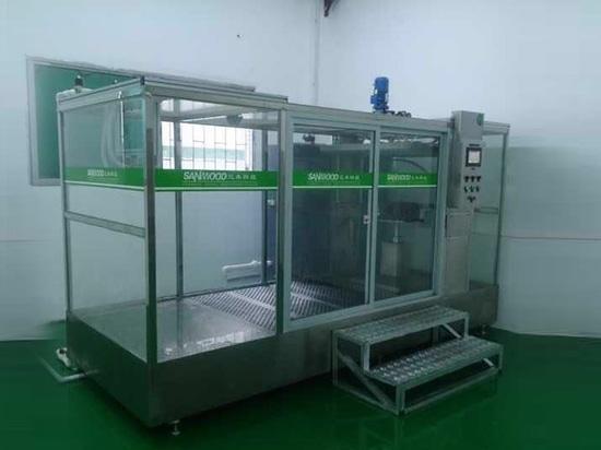 Il IPX123456 del cliente di Singapore ha integrato la camera di prova della pioggia ha installato bene sul sito
