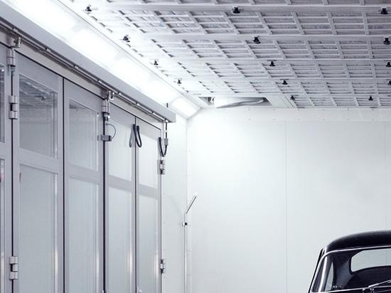 nuova illuminazione led atex per cabine di verniciatura. - via piave