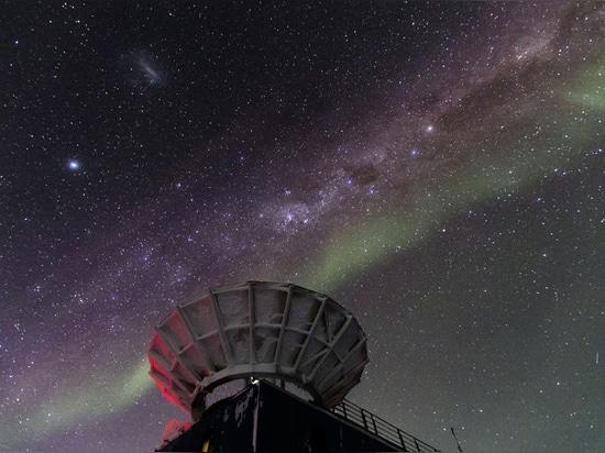 DSTI svolge il ruolo nella ricerca nell'astrofisica da polo Sud