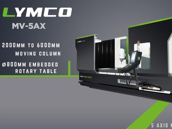 Aumenti la vostra efficienza con il centro di macinazione dell'asse di LYMCO 5