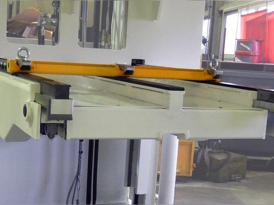 Carrello di spostamento guidato a doppia piattaforma di carico