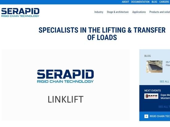 Nuovo sito Web del GRUPPO di SERAPID