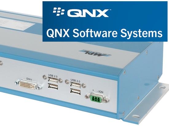 Computer incastonato fatto svizzero con il centro del quadrato i7 ora con il supporto di QNX 7,0
