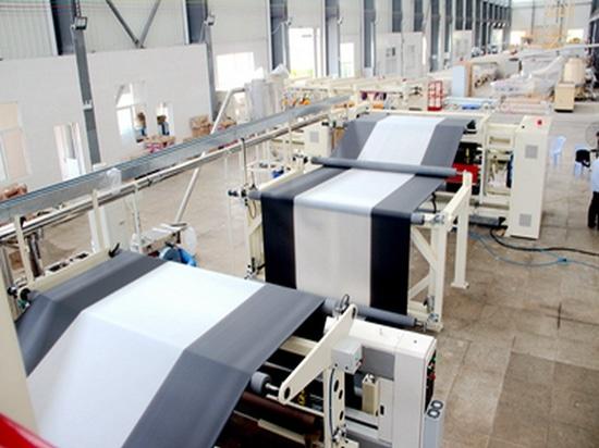 6-layer ricoprono la macchina di pacciame di colata del film in Israele