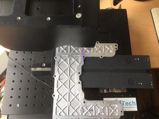 misura con l'analizzatore di laser Q6
