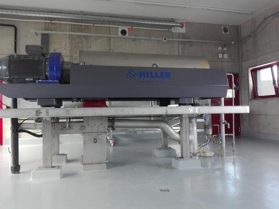 WWTP Morgental sul decantatore di Hiller – del lago di Costanza economicamente la migliore soluzione per una disidratazione dei fanghi efficiente
