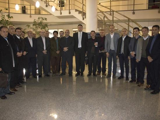 La delegazione iraniana in visita al Gruppo Pieralisi
