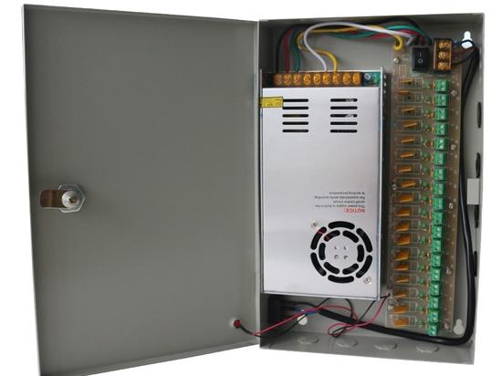 Alimentazione elettrica del CCTV