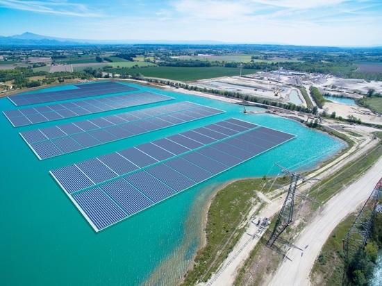 L'energia di Akuo lancia la costruzione dei 17 Mw che fanno galleggiare la pianta solare in Francia