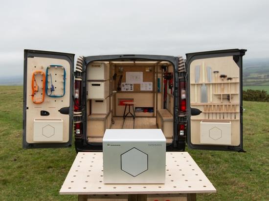 Arte professionale sul movimento: Nissan rivela il Concetto-furgone NV300 al salone dell'automobile di Bruxelles