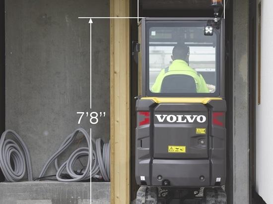 Volvo aggiorna EC20E, aggiunge ECR18E al programma