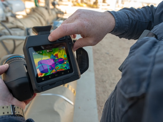 Macchina fotografica non raffreddata GF77 per rilevazione del metano
