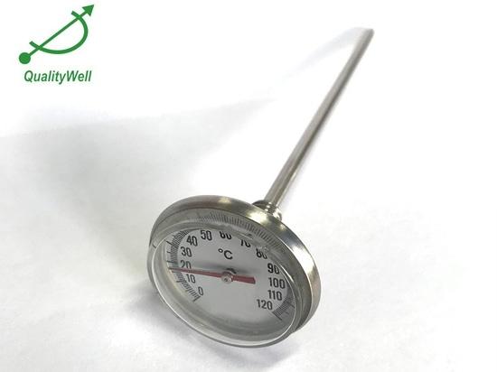 Manutenzione e cautela del termometro bimetallico