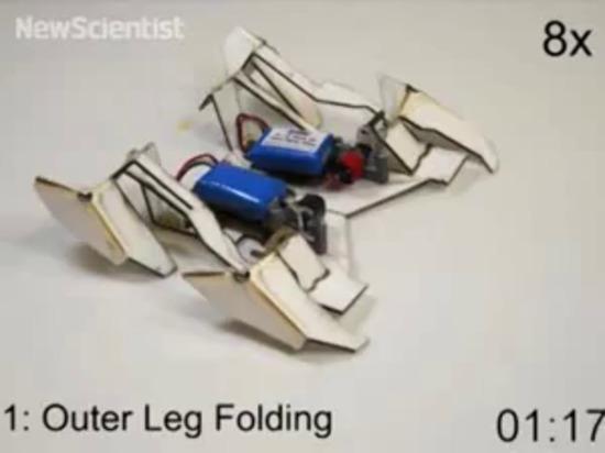 il robot Auto-piegante di origami cammina da sè