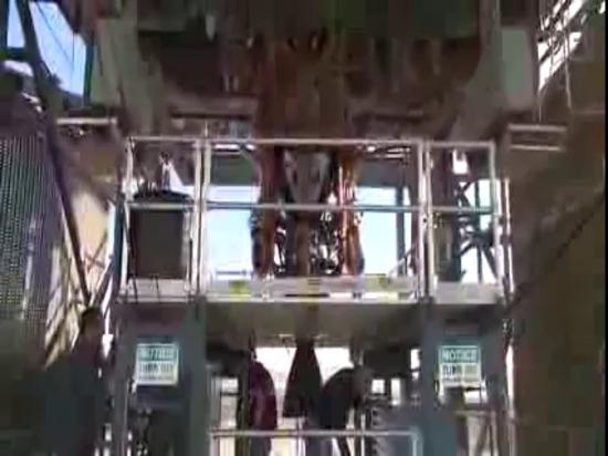L'origine blu Test-Fires il nuovo motore BE-3