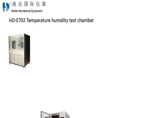 Camere di umidità e di temperatura costante