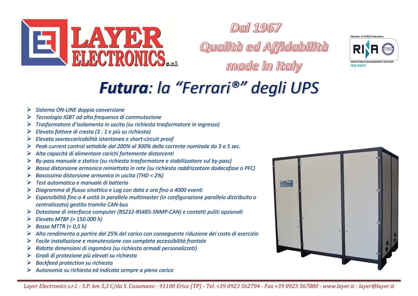 Circuito Ups : Ups serie futura trifase layer electronics s r l catalogo pdf
