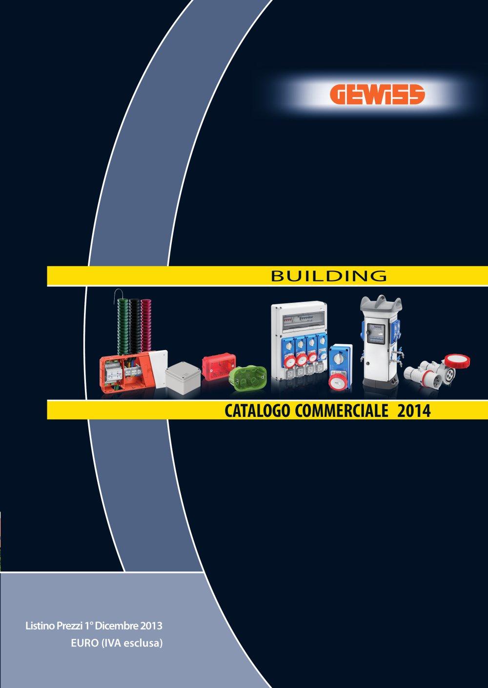 Catalogo Commerciale Building 2014   1 / 657 Pagine